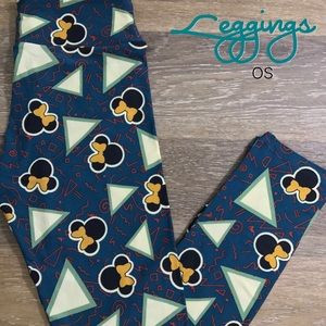 Lularoe Disney Leggings OS